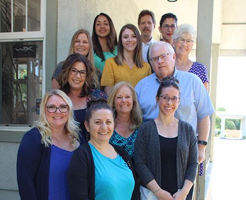 staff at eye care optometric